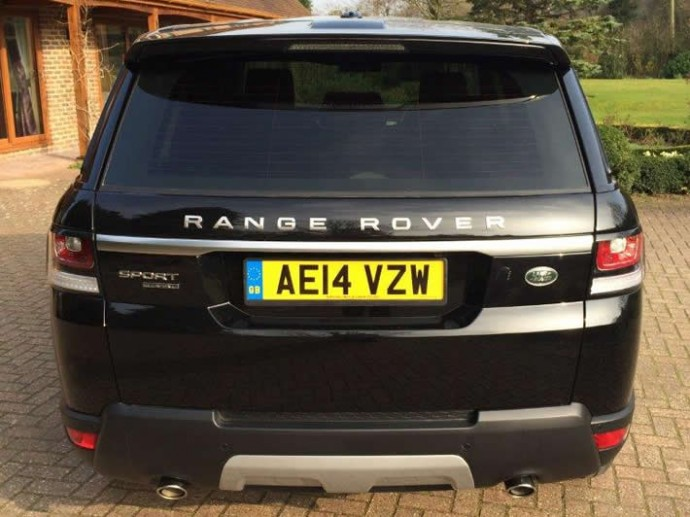 Range Rover Sport Window Tinting in Sussex